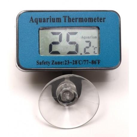Termometro digitale interno display LCD per acquario