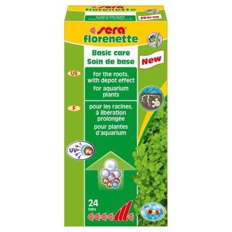 Sera Florenette pastiglie per piante acquario vari formati