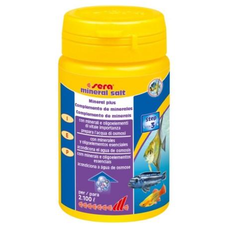 Sera Mineral Salt 105 gr Sali Minerali per Acquario