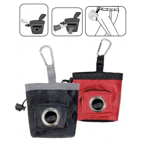 Porta Crocchette con Taschino Portarotoli Treat Bag per cane