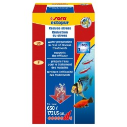 Sera Ectopur 130gr per 650lt contro funghi per Acquario
