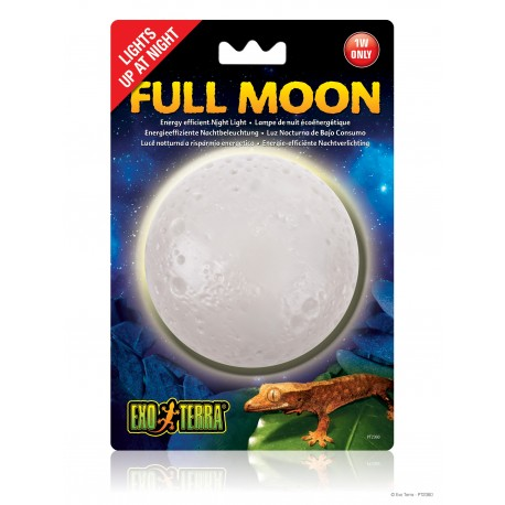 Exo Terra Full Moon Luce notturna a risparmio energetico per rettili