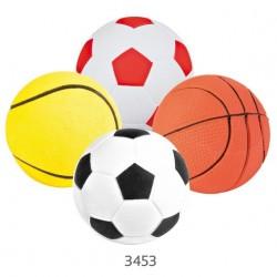 Trixie Gioco palla in gomma morbida assortita per cane cm6 cod. 3453