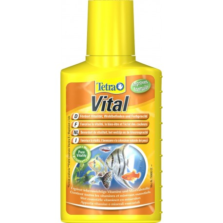 Tetra Vital 250 ml favorisce vitalità benessere e colorazione pesci per acquario