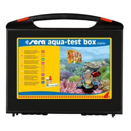 Sera Aqua Test Box Marin 8 Test per Acquario Marino