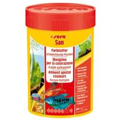 Sera San 100 ml 22gr mangime ravviva colori per pesci acquario