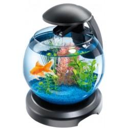 Tetra Cascade Globe 6,8 litri Nero Acquario Completo con Led