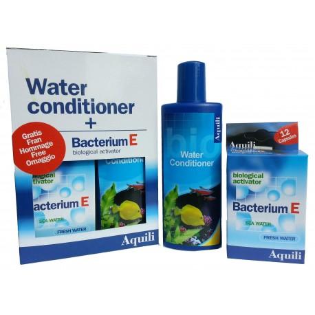 AQUILI Biocondizionatore ml 250 + Bacterium E acquario