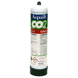 Aquili Ricambio Bombola CO2 usa e getta 500gr 10x1