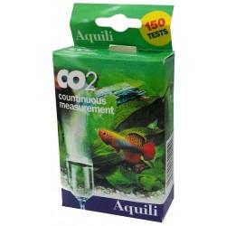Aquili Test Co2 Ampolla in Vetro per Misurazione Continua CO2 in Acquario