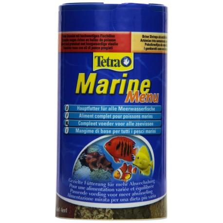 Tetra Marine Menu 250 ml 65g Mangime Misto per Pesci marini