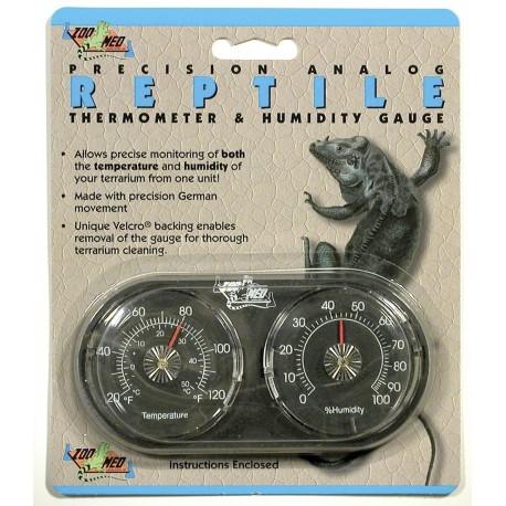 Zoomed Reptile Control Termometro + Igrometro per Rettili