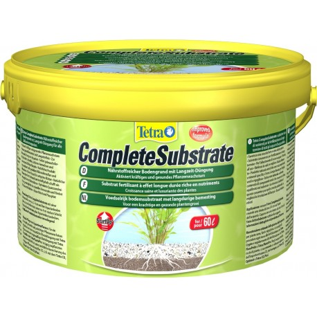 Tetra Complete Substrate 2,5 Kg Substrato fertilizzante per Acquario