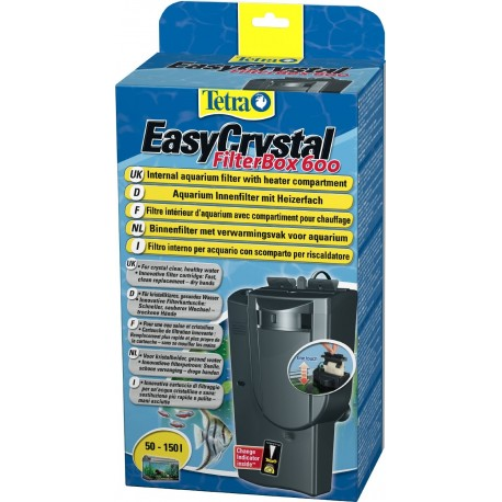 Tetra Easy Crystal Filter Box 600 Filtro Interno per Acquario