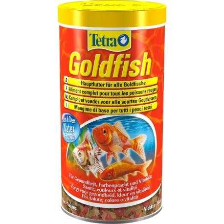 Tetra GoldFish 1000 ml 200g Mangime in Fiocchi per Pesci Rossi
