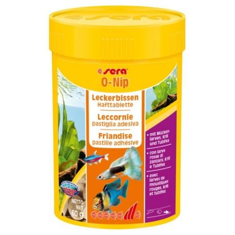 Sera O-NIP 100 ml 60g Mangime in Pastiglie per Pesci
