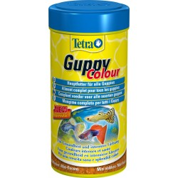 Tetra Guppy Colour 100 ml 30gr Mangime per Pesci Acquario