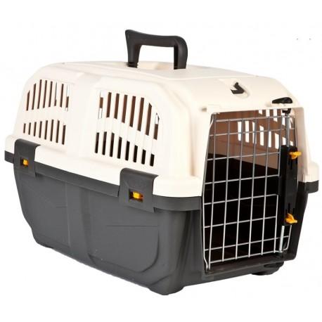 Trasportino Skudo 1 con Porta in Ferro per Gatto
