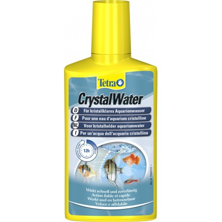 TETRA CRYSTAL WATER PER ACQUARIO formati diversi