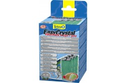 Tetra EasyCrystal Filter Pack A 250/300 10-30lt con agente ANTIALGHE per acquari
