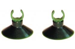 Ventose 16mm 2pz per fissaggio tubi Acquario filtro