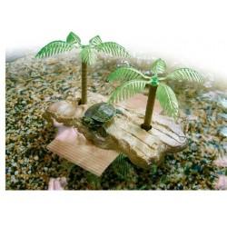 Isola galleggiante Large per tartarughe acquatiche