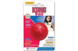 Kong Ball KB2 Gioco Palla Dura Rossa per Cane Piccolo