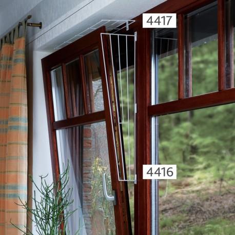 Trixie Griglia di Protezione per Finestre Superiore ed Inferiore per Gatti 4417