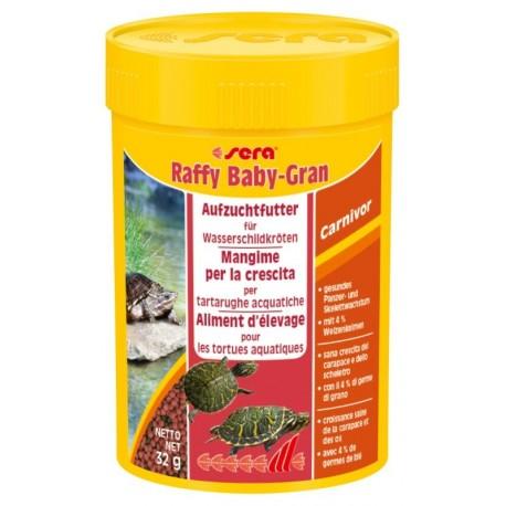 Sera Raffy Baby Gran 100 ml 32g Mangime per Tartarughe Giovani