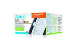 Askoll Pure Filter Media Kit M L XL Formato Conveniente con Cartucce 3action
