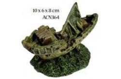 Decoro Nave affondata ACN364 per Acquario