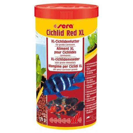 Sera Cichlid Red XL 1000 ml Granuli con Alga Ematococco