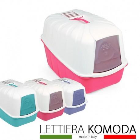 Komoda Bacinella Toilette Lettiera Chiusa per Gatto colore assortito