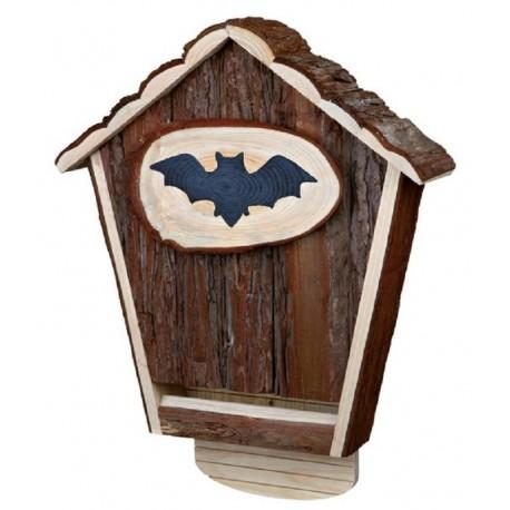 Natural Casetta Rifugio per pipistrelli nido casa in legno Bat Box