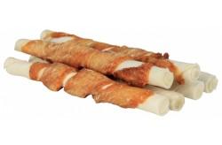 Trixie osso cicche arrotolate con pollo per cane 12cm 6pz cod. 31325