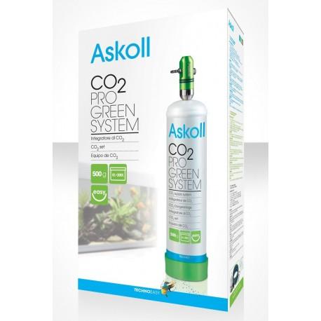 Askoll Co2 Pro Green System impianto CO2 piante per acquario