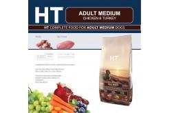 HT Dog Medium Adult Pollo e Tacchino 12,5 Kg Crocchette per Cani