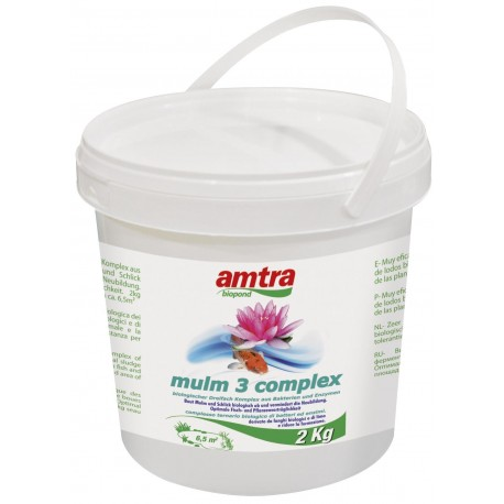 Amtra Biopond mulm 3 complex 2 kg antifango laghetto