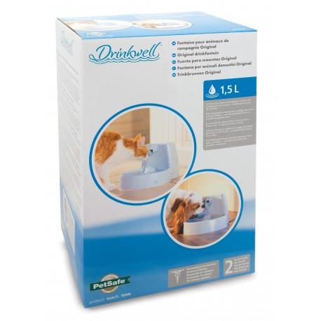 Pet Safe Drinkwell Original Fontana a Cascata per Cane e Gatto da 1,5 litri