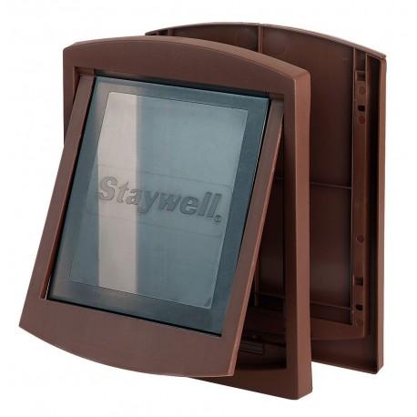 Petsafe Staywell 775 Porta Basculante Marrone per Cane max 45 Kg