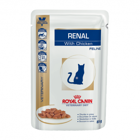 Royal Canin Renal with Chicken 85 gr Bustine con Pollo